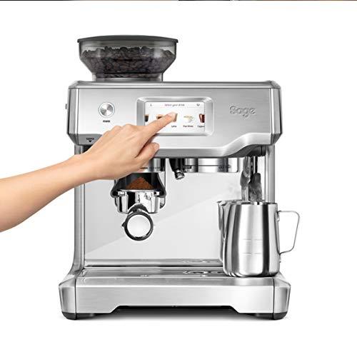 Sage the Barista Touch Semi-Automatic Espresso Machine (SES880BSS)