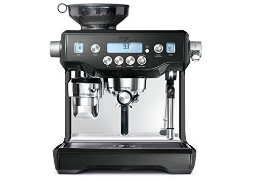 Sage The Oracle Semi-Automatic Espresso Machine, Black (BES980BKS)