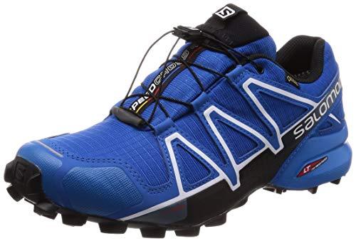 Salomon Men's Speedcross 4 GTX Trail Running Shoes,Blue (Sky Diver/Indigo Bunting/Black),11.5 UK (46 2/3 EU)