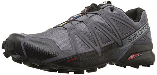 Salomon Men's Speedcross 4 GTX Trail Running Shoes,Grey (Grey (Dark Cloud/Black/Grey)),13.5 UK (49 1/3 EU)