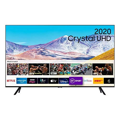 "Samsung 43"" TU8000 HDR Smart 4K TV with Tizen OS black (43 inch)"