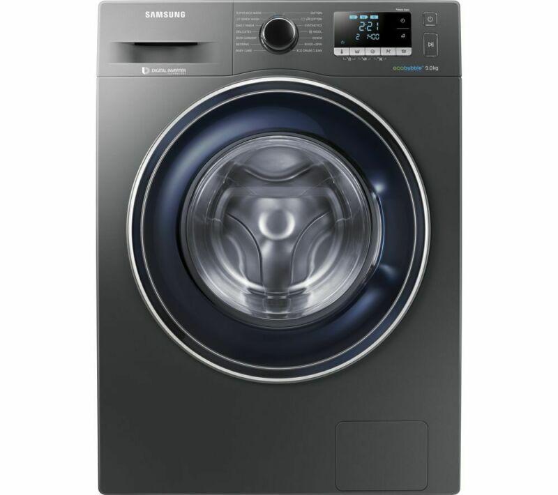 SAMSUNG ecobubble WW90J5456FX 9 kg 1400 Spin Washing Machine - Graphite, Graphite