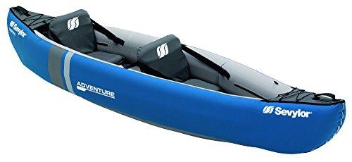 Sevylor Inflatable Kayak Adventure - 2 man Canadian Canoe,Sea Kayak,314 x 88 cm