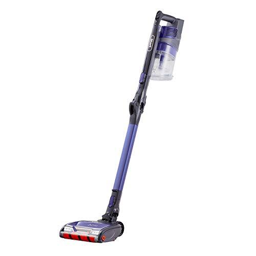 Shark Cordless Stick Vacuum Cleaner [IZ251UK] Anti Hair Wrap, Twin Battery, Purple (80 Minutes Run Time)
