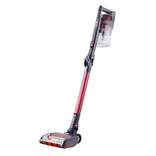 Shark Cordless Stick Vacuum Cleaner [IZ251UKT] Anti Hair Wrap, Pet Hair, Twin Battery, Red, Burgandy