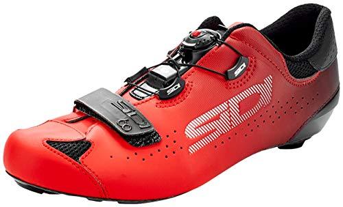 Sidi Sixty Road Shoes - Black/Red - EU 42