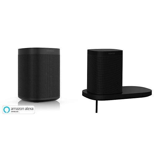 Sonos One and Shelf