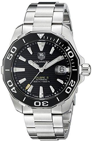 TAG Heuer Aquaracer Calibre 5 Black Dial Swiss Automatic Watch (WAY211A.BA0928)