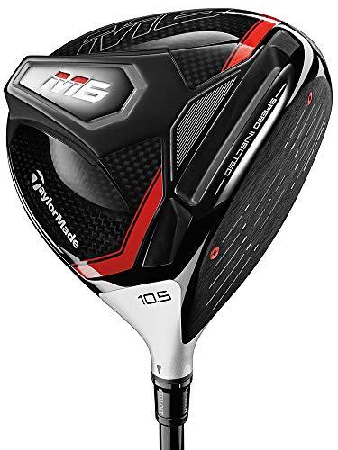 TaylorMade Mens M6 Golf RH Driver - Atmos Black - 9° Stiff