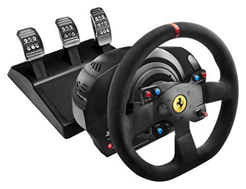 Thrustmaster T300 Ferrari Alcantara Edition Racing Wheel (PS4/PS3/PC DVD)