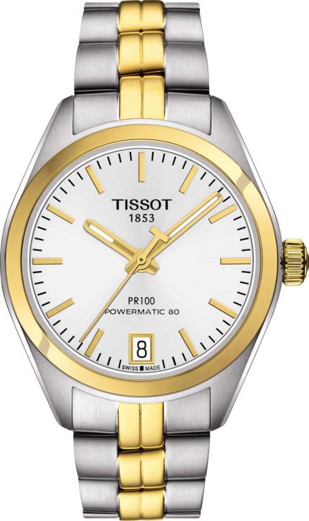Tissot Watch PR100 Powermatic 80 Ladies T1012072203100