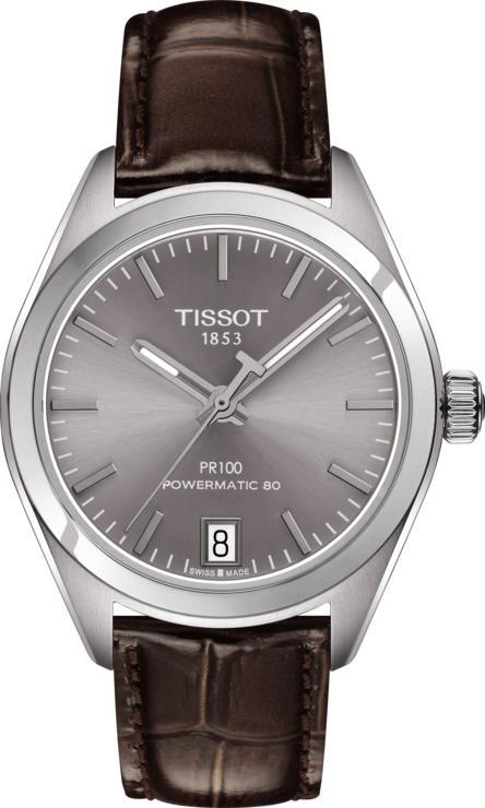 Tissot Watch PR100 Powermatic 80 Ladies T1012071607100