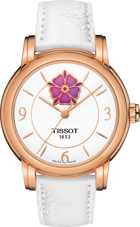 Tissot Watch T-Classic Powermatic 80 Heart Flower Ladies T0502073701705