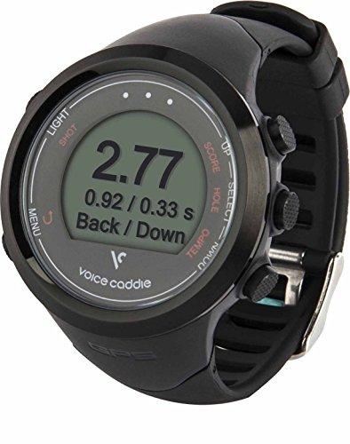 Voice Caddie T1 Hybrid Golf GPS Watch - Black,One Size